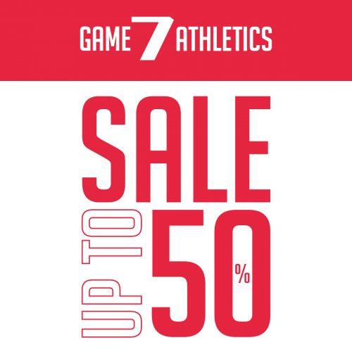 Promo Game7Athletics SUMMER SALE!